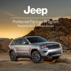 Jeep Preferred Partner Program - Enjoy exclusive offers on the Jeep range